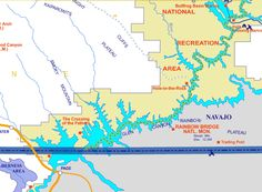 lake powell map For the most detailed maps of Not all who wander