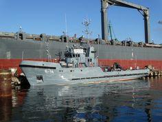 Rescue ship - ORP Zbyszko, photo: J. Ship, Ships, Boat
