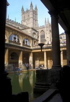 I loved Bath so much that I went there three times in my short four months in England.  The Georgian architecture, the desire to read Jane Austen, the baths themselves, all made me smile.  But there's a beautiful little café off the Abbey square that made this my favourite city in England.  I fell in love with the apple Danishes and Earl Grey tea and the service provided by the staff.  If you ever get the chance to visit Bath, go to Hands Cafe.