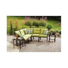 Patio Sofa Couch Furniture Chair Table Pool Grill Camp Dining Fireplace Lawn
