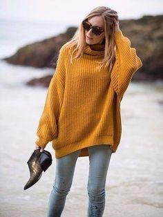 свитер оверсайз - Самое интересное в блогах