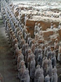cherjournaldesilmara:  Standing guard for 2400 years, The Terracotta Army, Xi'an - China