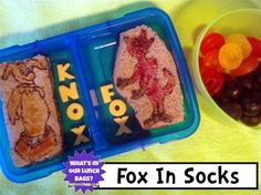 What's In Our Lunch Bags?: Seuss Week Day Three! Fox In Socks (2012)