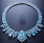 CARTIER | Art Deco Aquamarine Necklace | {ʝυℓιє'ѕ đιåмσиđѕ&ρєåɾℓѕ}