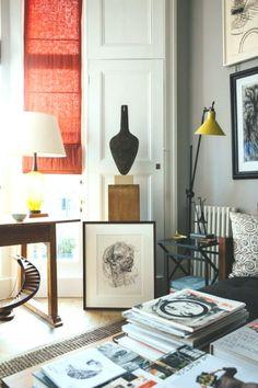 Artist Sarah Graham's London home and studio - #Artist #Grahams #Home #London #Sarah #Studio