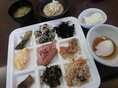 銀のゆば@高崎アパホテル。朝食充実〜。