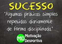 Fórmula para o sucesso - Motivação Desportiva