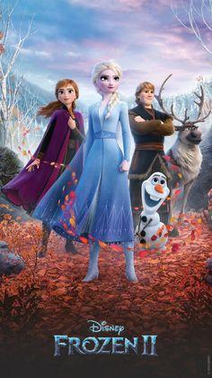 Walt Disney Animation, Walt Disney Pictures, Anime Princesse Disney, Disney Princess, Silhouettes Disney, Iphone Background Disney, Anna Et Elsa, Cinema Posters, Movie Posters