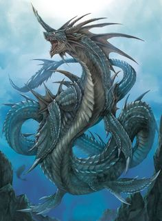 Post with 160 votes and 5542 views. Tagged with wallpaper, dragon, fantasy; Dragons, and some other fantasy related wallpapers dump Water Dragon, Sea Dragon, Sea Serpent, World Serpent, Fantasy Beasts, Dragon Artwork, Dragon Pictures, Dragon Images, Fantasy Dragon