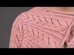 #13 Drop Stitch Scarf, Vogue Knitting Spring/Summer 2009 - YouTube