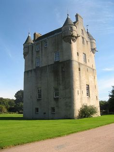 Udny Castle is a tower house in the parish of Udny, southwest of the village of Pitmedden and northeast of the hamlet of Udny Green, Aberdeenshire, in the northeast of Scotland. The area is generally flat but the castle is sited on the highest ground and can be seen for a considerable distance. Its exact construction date is unknown, but its foundations probably date from the late 14th or early 15th century.
