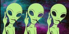 #alien #et #universe #smoking