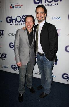 Ghost Opening Night: Robin De Jesus & Lin-Manuel Miranda