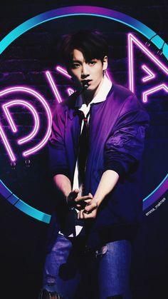 BTS    DNA LOCKSCREEN    JUNGKOOK    @emma_maknae