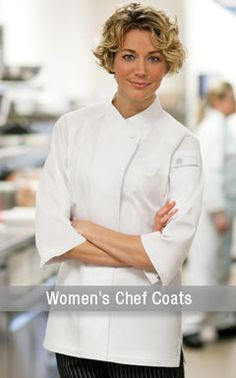 Womens Chef Coats, more options for the lovely lady chef.