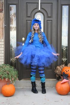 1000+ images about Cookie monster on Pinterest | Cookie ... Homemade Cookie Monster Halloween Costume