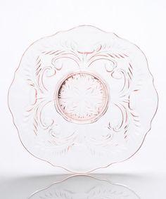 Another great find on #zulily! Rose Thistle Dessert Plate #zulilyfinds
