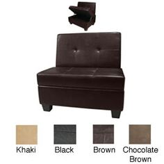 @Overstock - Give your home extra storage and a wall bench for extra seating. Accented with easy-to-clean pet-proof and kid-proof microfiber suede and leather, this storage bench is perfect for any room.http://www.overstock.com/Home-Garden/Butler-Hinged-Storage-Bench/5868661/product.html?CID=214117 $144.89