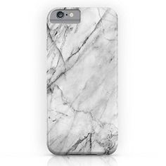 Amazon.com: Society6 Carrara Marble iPhone 6 Slim Case: Patterns and Textures: Cell Phones & Accessories