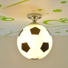 f87d0831f8a6e Fashion Boy s Room Football Basketball Ceiling Lamp Cute Children s Bedroom  Ceiling Lights Baby Room Ceiling