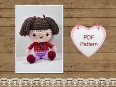 Amigurumi Pattern Mini Doll