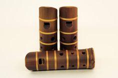 Bamboo ocarina VI big // Pocket recorder // Compact flute //