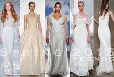 2015 Spring Wedding Colors | Straight from the Runway: Spring 2015 Bridal Fashion Trends!