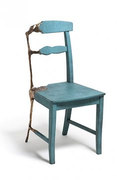 recession chair oxidised - tjep