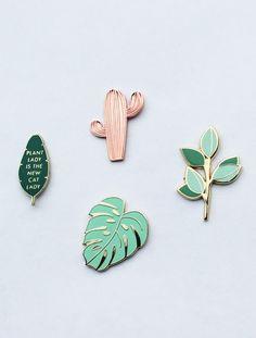 Enamel Pin Set | handmadesammade on Etsy