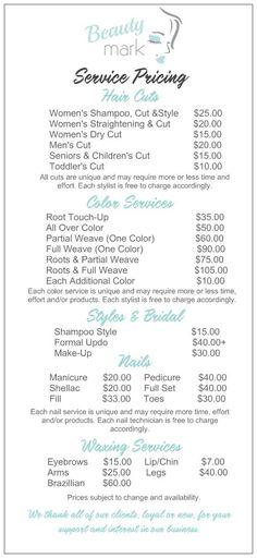 Jcp Salon Services Haircuts Manicures Pedicures Corrective