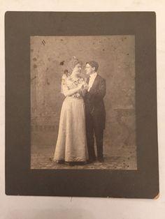 Victorian Era Old Photo Cabinet Card Wedding Hanover Bay NH MA NJ | eBay
