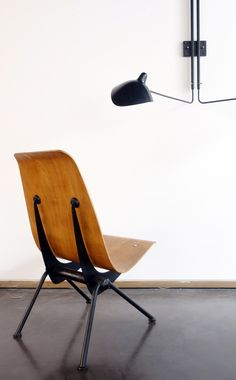 "Jean Prouvé ""Antony"" chair, model no. 356, circa 1955"