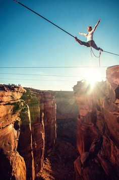 Highlining in Moab!