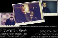 Locutores Madrid agencias Locutor ingles britanico Edward Olive : English British voice-over actors in Madrid Spain voice-overs for corporate videos, commercials, jingles, TV programs, dubbing  & feature films     http://www.edwardolive.com/homepage_english_british_actor_madrid_barcelona_spain_tv_films_ads_voiceovers.php | edwardolive