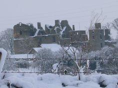 Chateau du Bois Thibault, Near Lassay-les-Chateaux, Normandy. Jan 2007. Photo by Peter Horsley
