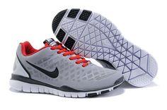 Nike Free Run Red White For Women $59.00