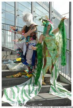 Edge and Rydia, Final Fantasy IV