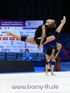Alexandra Soldatova (Russia) # training, April 29 # The European Championship 2015 in Minsk (May 1-3)