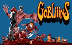 MS-DOS GAME: Gobliiins