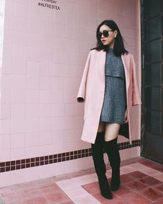 Michelle (@runwayonthego) Camouflage in pink  #fashionblogger #wiw #ootd #lotd