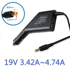 Car charger Car adapter 19V 4.74A 90W power Laptop Charger for Acer Aspire TravelMate 5750G 5755G 5920G 5951 4738ZG 4720 ZG5 ZA3