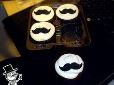 Yuumei's Mustache Cupcakes :{T