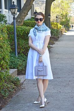 Polished Closets || White Shirtdress The Vacationer http://pashminaperfection.com/products/the-vacationer