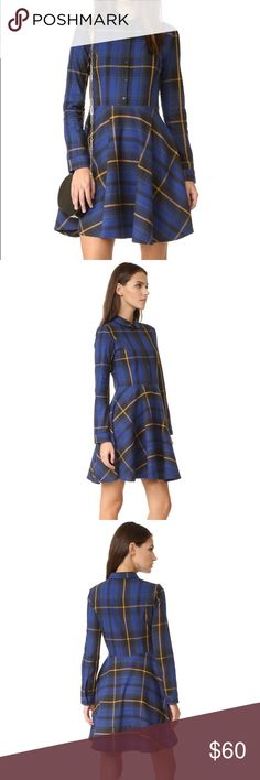 ElevenParis Mini Plaid Dress Bought & never worn. Sold out in a size small on shopbop & ElevenParis. Blogger favorite! Eleven Paris Dresses Mini