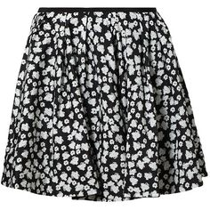 DKNY RUTH Mini skirt found on Polyvore