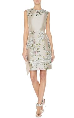 Floral Jacquard Dress by Giambattista Valli - Moda Operandi