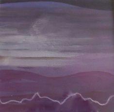 THOMAS GEORGE:1918-2014 NYC/Princeton NJ Listed Southwest Series Purple Majesty