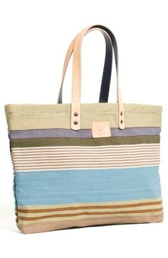 Will Leather Goods 'WEAVER'S HOUSE' REVERSIBLE CANVAS TOTE @Nordstrom
