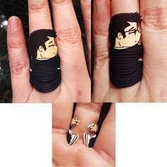 Doctor Who: 10th Doctor Ring<< i need this like water.