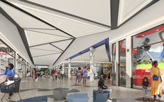 Refurbishment to an existing mall in South Africa. Refurbishment, South Africa, Mall, Basketball Court, Retail, City, Restoration, Cities
